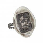 アニュス・デイ 封蝋 リング シルバー 神の子羊 指輪 【The Sacred Secret Original Jewelry】