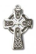 ケルトクロス M 十字架 ペンダント スターリングシルバー製 アメリカ製