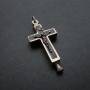 アンティーク十字架  聖遺物入れ クロス デッドストック