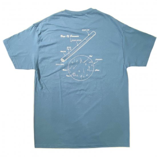 <img class='new_mark_img1' src='https://img.shop-pro.jp/img/new/icons1.gif' style='border:none;display:inline;margin:0px;padding:0px;width:auto;' />Boys of Summer Zoot stick Tshirt Slate