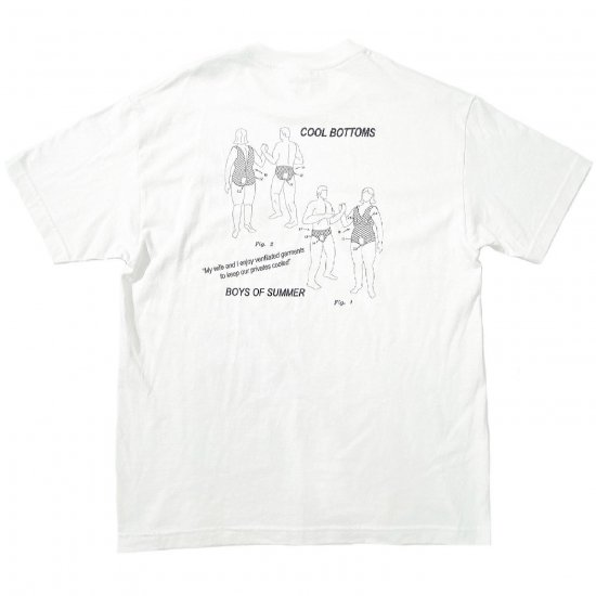 <img class='new_mark_img1' src='https://img.shop-pro.jp/img/new/icons1.gif' style='border:none;display:inline;margin:0px;padding:0px;width:auto;' />Boys of Summer Cool bottoms Tshirt White