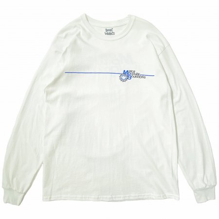 <img class='new_mark_img1' src='https://img.shop-pro.jp/img/new/icons1.gif' style='border:none;display:inline;margin:0px;padding:0px;width:auto;' />Book Works MPB white long sleeve T