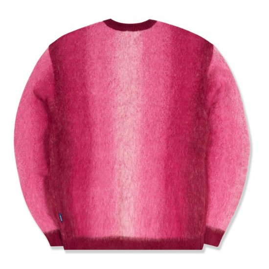 <img class='new_mark_img1' src='https://img.shop-pro.jp/img/new/icons1.gif' style='border:none;display:inline;margin:0px;padding:0px;width:auto;' />Awake NY Mohair ombre striped cardigan Pink