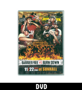 BARRIER FREE VS BURN DOWN / 決戦 -SOUND CLASH- 〔DVD〕