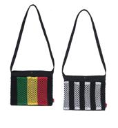 Cotton Canvas x Stripe Marina Sacoche Bag