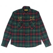 A.B.S. FLANNEL CHECK SHIRTS