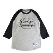 COOL RUNNINGS Champion RAGLAN SLV T-SHIRTS