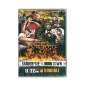BARRIER FREE VS BURN DOWN / 決戦 -SOUND CLASH- DVD