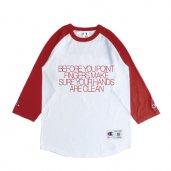 JUDGE NOT Chamipon Raglan Sleeve T