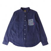 FLANNEL DOT LABEL PKT SHIRTS