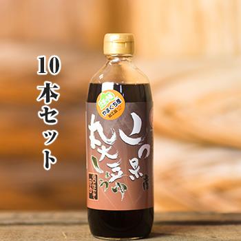 (10本セット)山口県産丸大豆しょうゆ・山口仕立て・甘め500ml