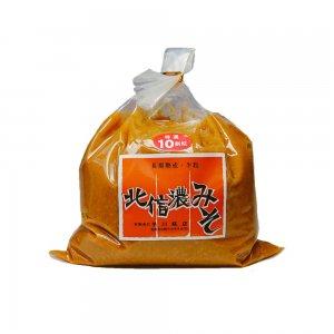 北信濃みそ(10割こうじ) 6kg(3kg×2袋) 【送料・消費税込み】