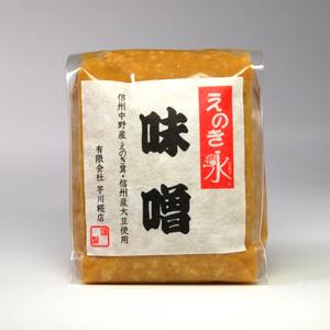 えのき氷(ごおり)味噌 500g 【送料別・消費税込み】