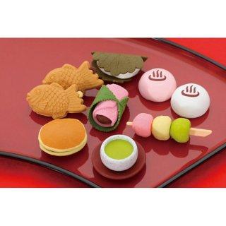 おもしろ消しゴム 和菓子(単価¥26)60入
