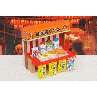 おもしろ消しゴム 屋台(単価¥26)60入