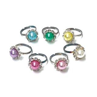 きらきらパール指輪(単価¥24)24入