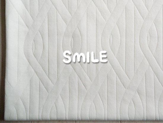 (SALE)ループステッチキルトニット/オフホワイト
