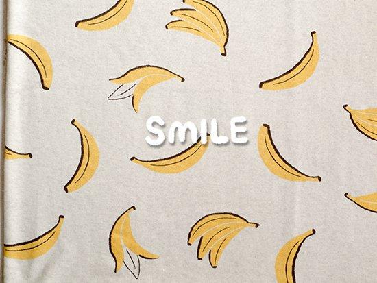 オーガニック30/10TOP杢裏毛/オートミール杢/バナナ
