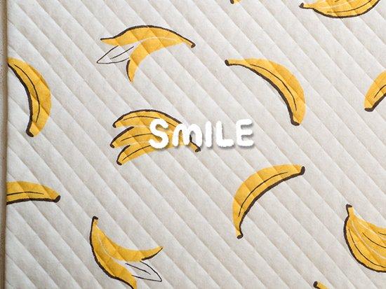 キルトニット/バナナ