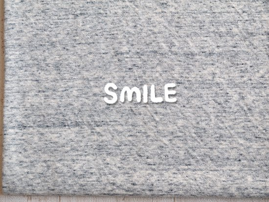 (SALE)ナチュラル杢糸接結/グレー杢