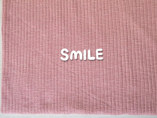 (SALE)スラブリブニット/ピンク