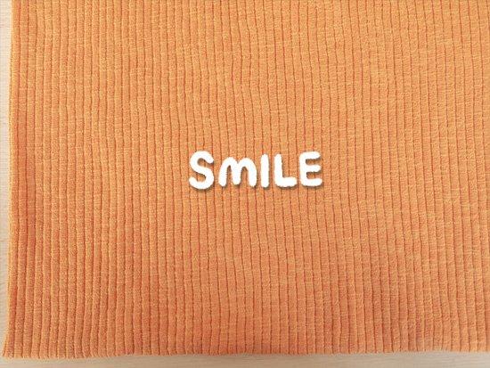 (SALE)スラブリブニット/オレンジ