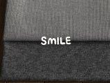 [パターンセット]デニムニットパンツ/ブラック杢