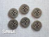 [ボタン]デニムボタン イカリ 21mm/6個