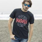 【PROJECT SR'ES】グラフィックプリントTシャツ/PAINT ALOHA TEE