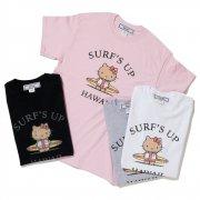【HELLO KITTY/ハローキティ】SURF'S UP TEE サーフズアップ Tシャツ キティちゃん