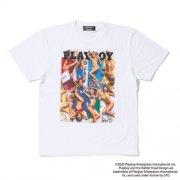 【PLAYBOY×PROJECT SR'ES】BIKINI COVER TEE ビキニカバーデザイン 定番シルエットTシャツ