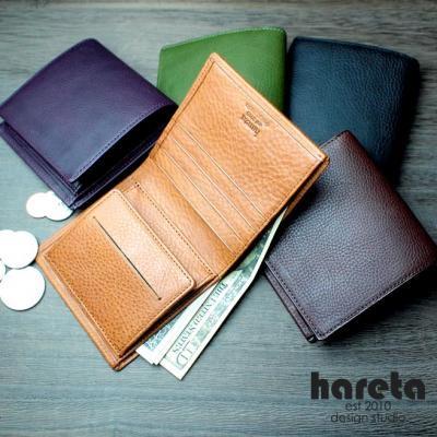ボックス型小銭入れ二つ折り財布 ミネルヴァ・ボックス