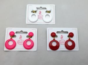 【再入荷】子供用フラメンコイヤリング  (全3色)