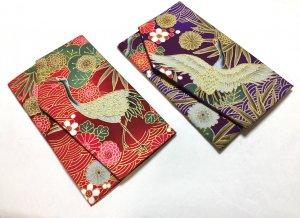 ◆慶弔両用◆鶴の袱紗 全2色