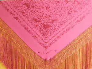 【取寄品】ボルダドスフォロンダ社シルクマントン140� ピンク