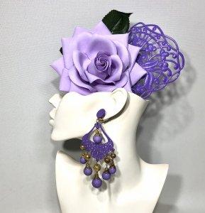 薄紫薔薇3点セット