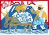COFFEE EXLIRIS SERISE COROMBIA エクスリブリス ポストカード 「コロンビア」