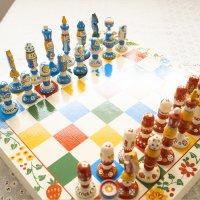 maminka chess(Flower)盤付