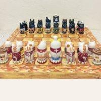 maminka chess(猫のパン屋さん)盤付