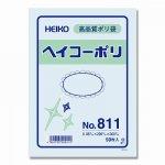 ヘイコーポリ袋 �811 厚0.08mm ヒモなし(50枚)