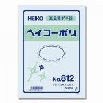 ヘイコーポリ袋 �812 厚0.08mm ヒモなし(50枚)