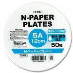 紙皿 Nペーパープレート5A (50枚)直径12�