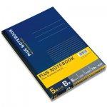 PLUSノートブック セミB5 B罫 NO-003BS-5P 6号 5冊パック