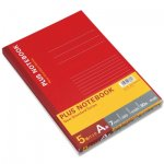 PLUSノートブック セミB5 A罫 NO-003AS-5P 6号 5冊パック