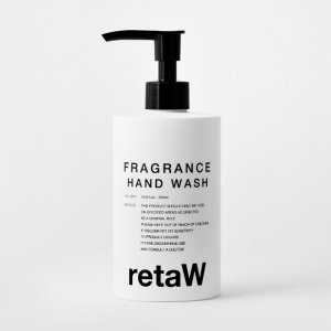 <img class='new_mark_img1' src='https://img.shop-pro.jp/img/new/icons47.gif' style='border:none;display:inline;margin:0px;padding:0px;width:auto;' />retaW/リトゥ/Fragrance Hand Wash ALLEN*/ハンドウォッシュ