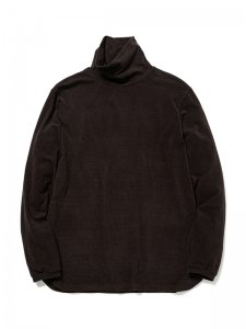 nonnative/ノンネイティブ/【送料無料】2019AW/DWELLER TURTLE NECK L/S TEE A/M/P JERSEY BORDER(BLACK×OLIVE)