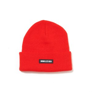WIND AND SEA/ウィンダンシー/2019AW/WDS BEANIE(RED)/ビーニー