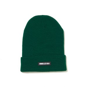 WIND AND SEA/ウィンダンシー/2019AW/WDS BEANIE(GREEN)/ビーニー
