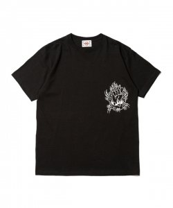 DELIVERY HELLS/デリバリーヘルズ/2020SS/DH×HQ Tee(BLACK)/TEEシャツ