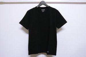 WACKOMARIA/ワコマリア/2020SS/HEAVY WEIGHT CREW NECK T-SHIRT(BLACK)/クルーネックアンダーシャツ
